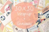 30×30 Challenge Wrap-up + Giveaway